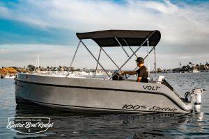 Volt 180 | Newport Beach Electric Boats Rental | Duffy